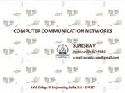 Data link layer-Prof. suresha v,EC dept.