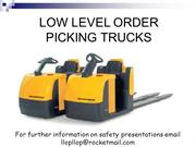 Low Level Order Picker