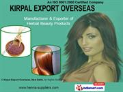 Natural Henna By Kirpal Export Overseas, New Delhi New Delhi
