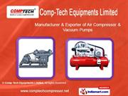 High Pressure Air Cooled Compressor By Comp - Tech Equipments Limited