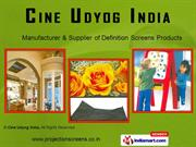 Projection Screen By Cine Udyog India Delhi