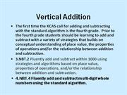 Vertical Addition