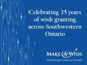 25th Anniversary Wish Slideshow