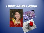 a tribute to jessica m. mcglawn