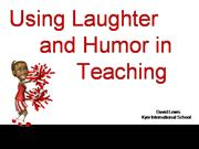Humor Workshop