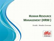HRM Session 4