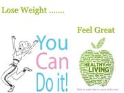 Weight Management for Health and Wellbeing