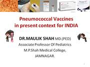 pneumococcal vaccines in indian context