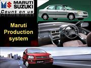 Maruti production system