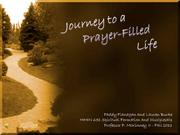 Prayer Filled Life