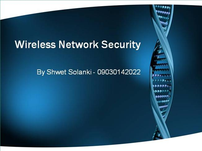 dissertation on network security This thesis studies the application of machine learning to the field of cyber  security machine learning algorithms promise to enhance cyber.