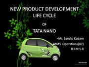 NEW PRODUCT DEVELOPMENT LIFE CYCLE of NANO.pptx