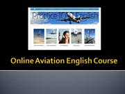 online Aviation English Course