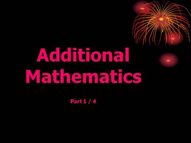 Add Math Section C: Chapter 10: Solution of Triangles |authorSTREAM