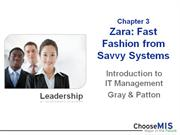 Class 03 and 04 - Zara and Supply Chain
