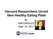 New healthy eating plate
