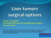 liver tumor surgical options smadi jordan, cancer