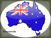 From Australia to the USA
