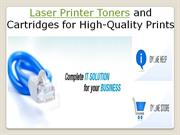 Laser Printer Toners and Cartridges for High Quality Prints- etoners.c