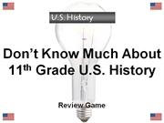 us history review game 101 dkmah 11-12