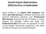 SEO Services in Hyderabad | SEO company Hyderabad | SEO Companies