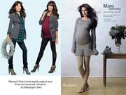 maternity wear advertising through time