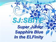 Super Junior: Sapphire Blue in the ELFinity
