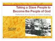 From Slave People to People of God