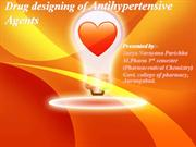 Drug design of Antihypertensive Agent-ppt