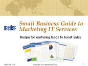 Small Business Guide to Marketing IT Services