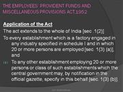employees provident fund act