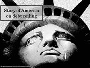 Story of America on debt ceiling