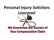 Personal Injury Solicitors Liverpool
