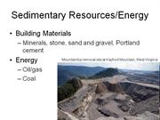 Sedimentary Resources
