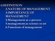 management ppt