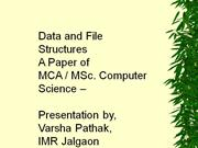 Data Structures - Trees