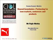 Beyond boundaries - Rajiv Mehta