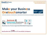 Make your business Onetouchsmarter with Cloud9 - Oct 2011