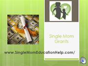 Single Mom Education Help test