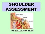 Shoulder Evaluation k1