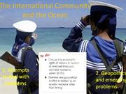geopolitics of the ocean