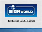 1 - Signworld Power Point Slides