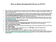 How to Burn Downloaded Movies to DVD