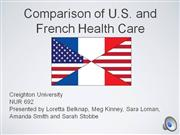 us vs france health care systems