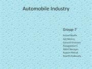 automoative industry