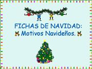 FICHAS DE NAVIDAD