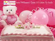 Send Different Types Cake To India