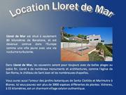 location lloret de mar
