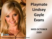 PlayboyEvents.com- October 2009 Lindsey Gayle Evans