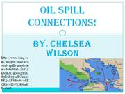 oil spill connections!